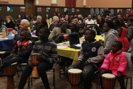 cultural night drumming